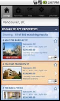 Screenshot of RE/MAX of Western Canada
