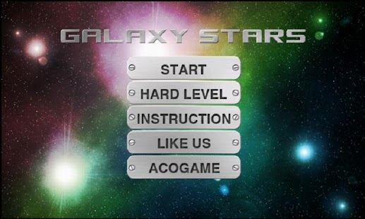 Galaxy Stars One Touch drawing screenshot