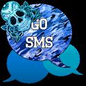 GO SMS - Sugar Skullz 6 icon