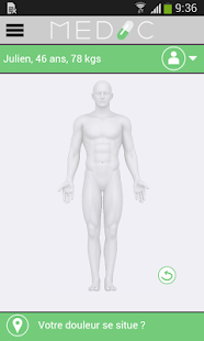 Medic screenshot for Android