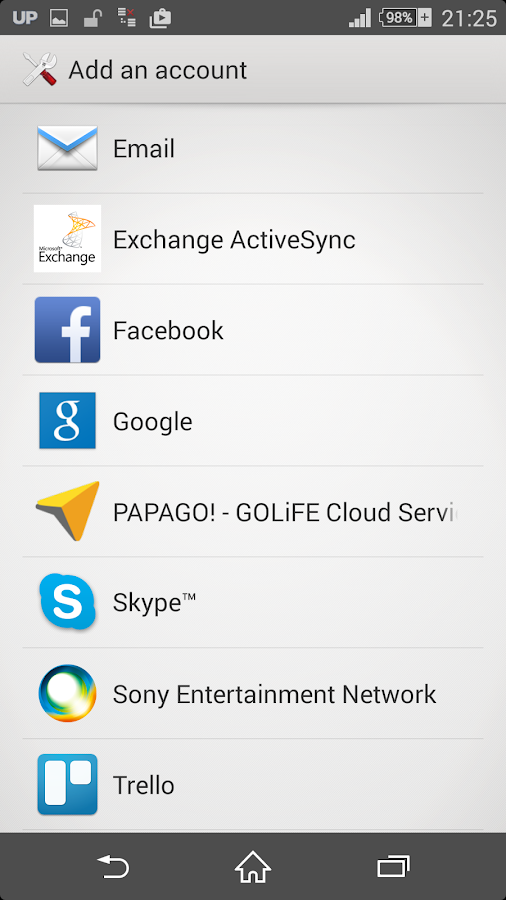 PAPAGO - GOLiFE Cloud Service - screenshot