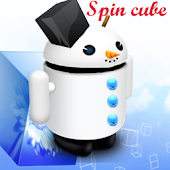 Spin Cube Live Wallpaper