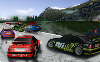 Screenshot of 3D Car Racing Drift