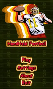 Handheld Football- screenshot thumbnail