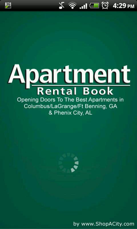 Apartment Rental Book- screenshot