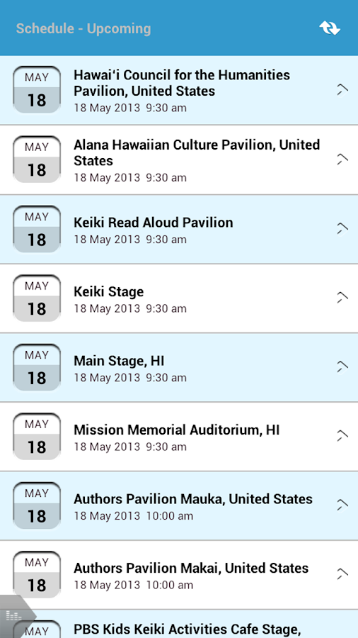 Hawaii Book and Music Festival - screenshot