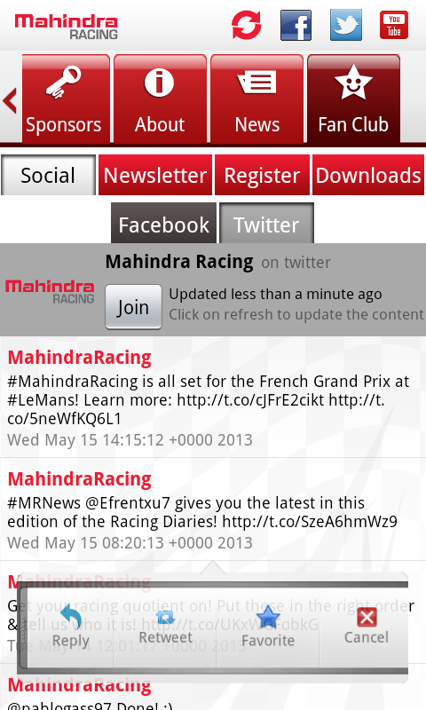 Mahindra Racing - screenshot