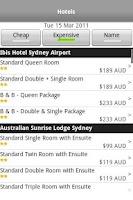 Screenshot of iSpeedy Flights Hotels & Cars