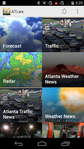 ATLwx: Atlanta Weather Traffic