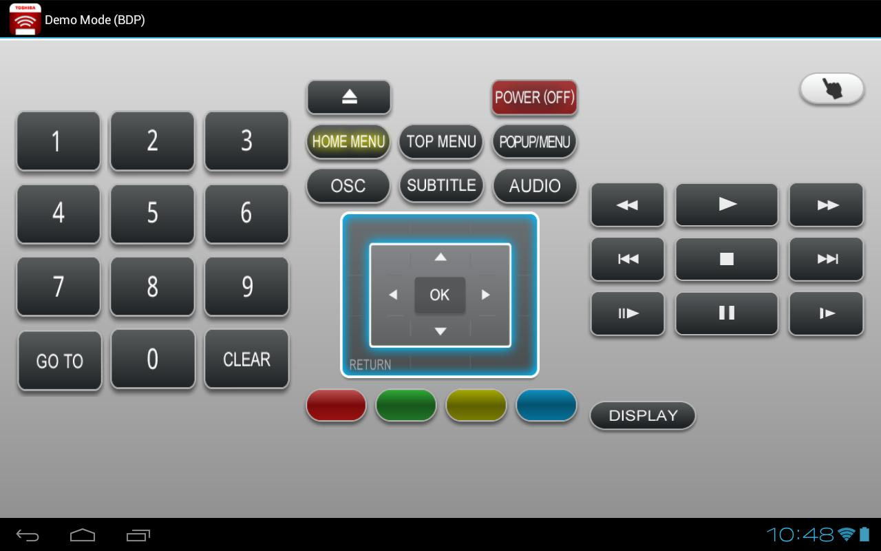 Toshiba Remote- screenshot