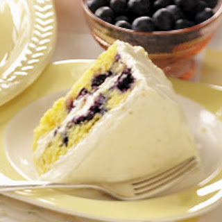 Blueberry Citrus Cake Recipe.