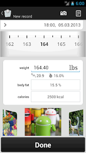 Weight Meter ideal weight, BMI - screenshot thumbnail