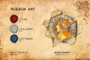 Screenshot of Puzzle Puzzlix: Mucha