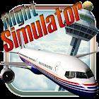 simulador de vuelo virtual icon