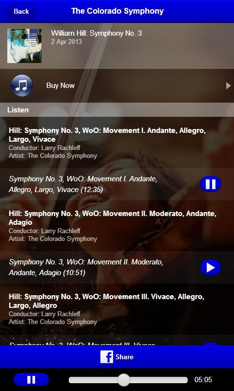 The Colorado Symphony - screenshot