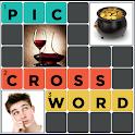 Pic Crossword puzzle game free icon