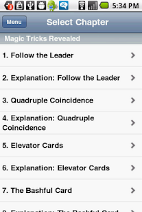 Free Download Magic Tricks Revealed APK for Android