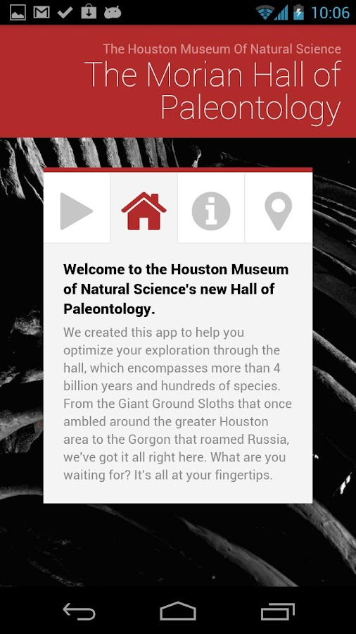 HMNS Tour Guide: Paleo - screenshot