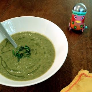 Pureed Kale & White Bean Soup