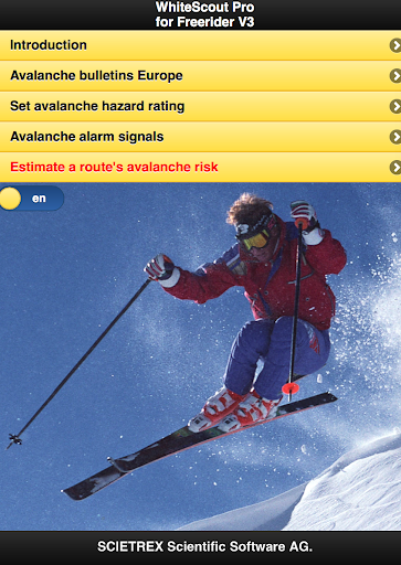 WhiteScout Pro for Freerider