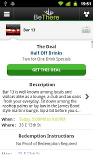 BeThere Deals - screenshot thumbnail