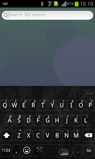 Emoji Keyboard+ Black Grape