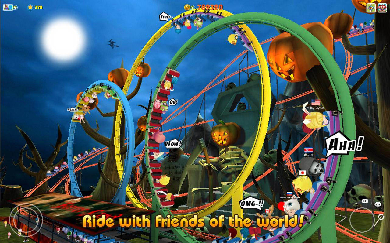 Theme Park Rider Online- screenshot