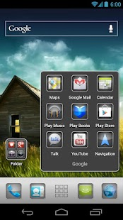 Plate Theme 4 Apex Launcher - screenshot thumbnail
