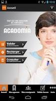 Screenshot of Acadomia