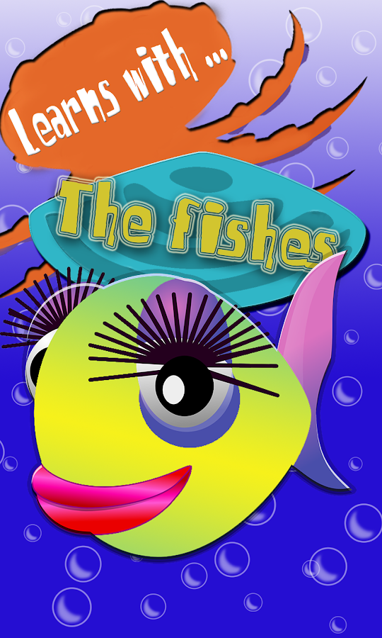Learn Colored sea fish teach- screenshot