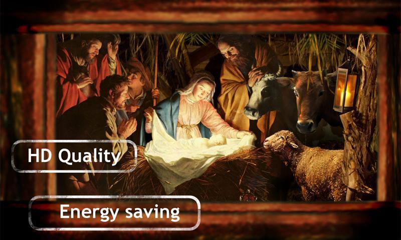 Screenshot 2 Jesus in Manger Live Wallpaper