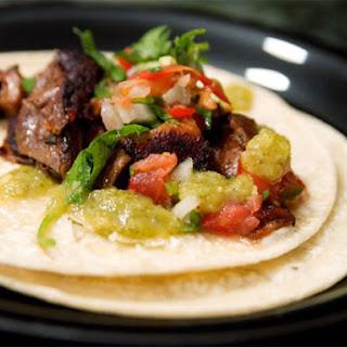 Tacos de Buche (Pork Stomach Tacos)