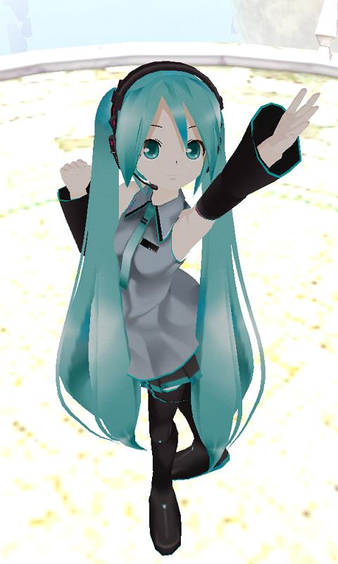 MikuMikuDroid - screenshot