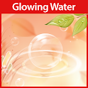 Glowing Water  Live Wallpaper icon