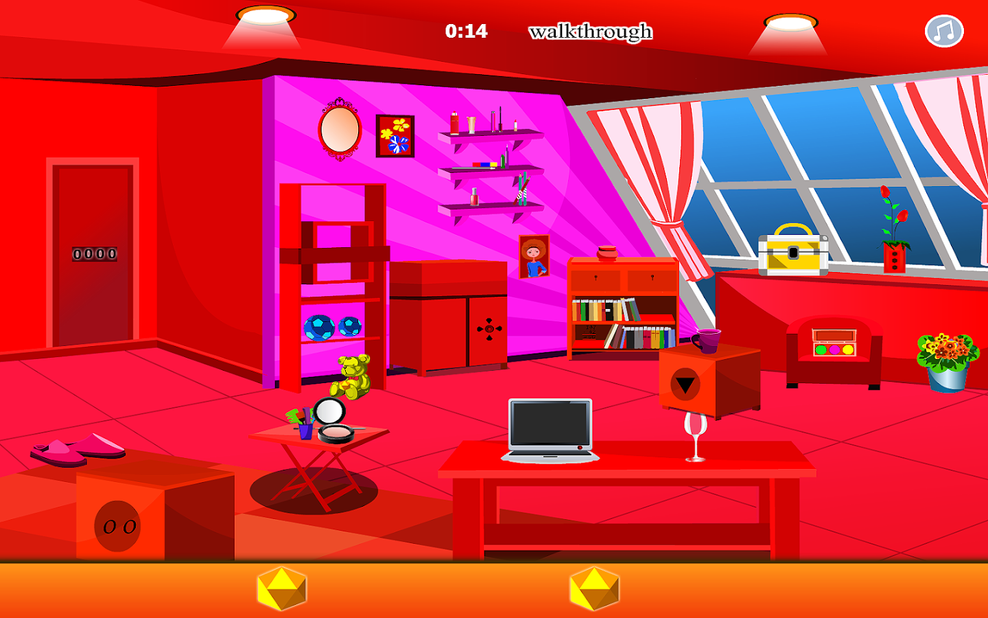 Red Mansard Escape Games- screenshot