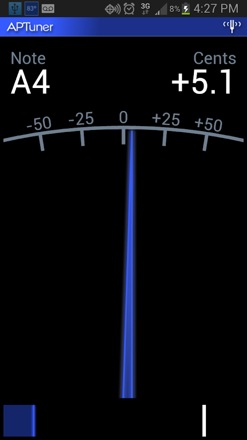 APTuner - Chromatic Tuner - screenshot