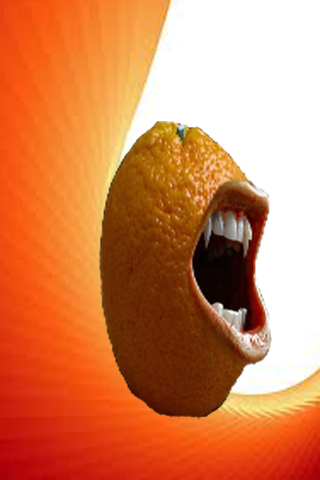 Orange Laugh Touch LWP
