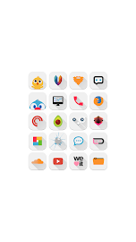Ivory - Icon Pack Screenshot 2