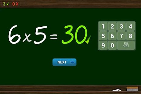 Multiplications Tables- screenshot thumbnail
