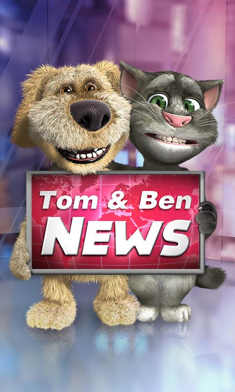 Talking Tom & Ben News Free - screenshot
