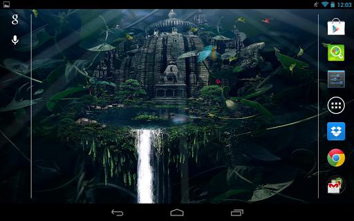 森の中の寺院|玩個人化App免費|玩APPs