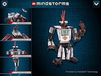 LEGO® MINDSTORMS® 3D Builder - screenshot thumbnail