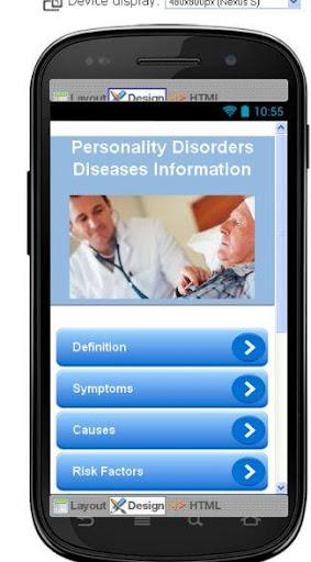 Personality Disorders Disease