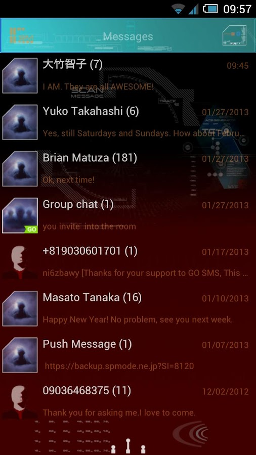 Download the New Star Trek GO SMS Pro Theme Android Apps On