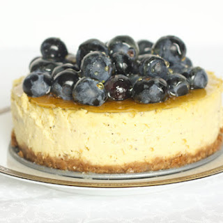 Goat Cheese Cheesecake.