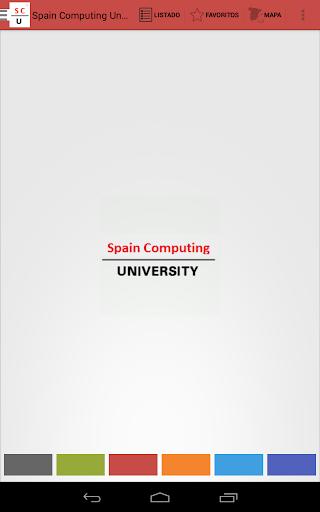 Spain computing university