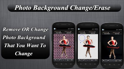 Photo Background Change Erase