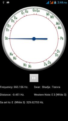 Shruti Tuner - screenshot