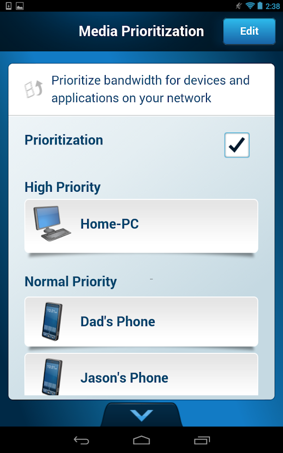 how to delete a device from linksys smart wifi