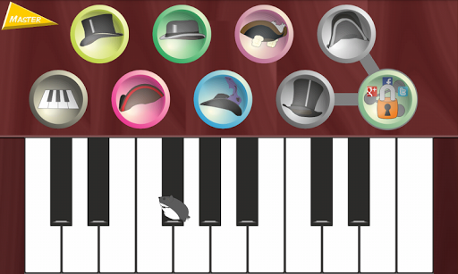 Piano for kids Master PRO